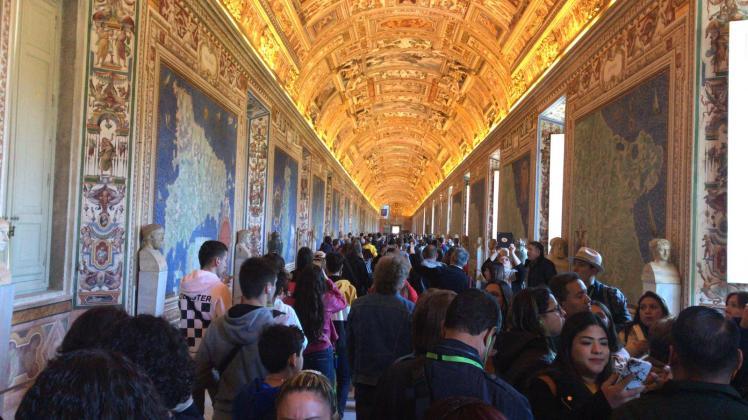 Sala de los mapas, Museo Vaticano